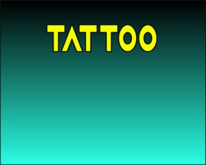 TATTOO TEMPORALES