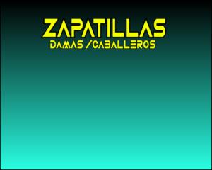ZAPATILLAS PARA (HOMBRES Y MUJERES)